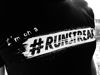 I'm on a #RUNSTREAK T-shirt men's, Black