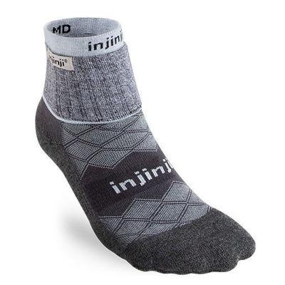 Injinji Liner + Runner Mini-C W Gray - Dam
